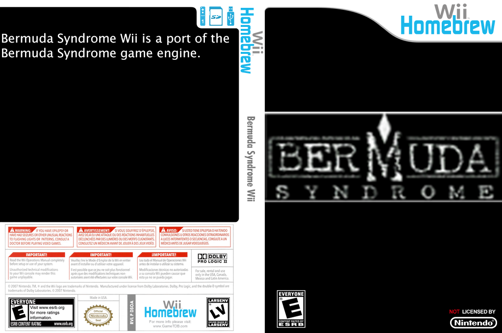 Bermuda Syndrome Wii Wii coverfullHQ (DSOA)