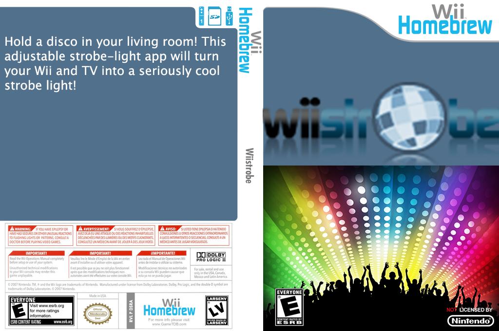 Wiistrobe Wii coverfullHQ (DSRA)