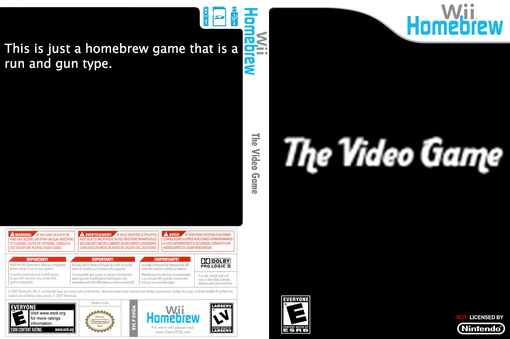 The Video Game Wii coverfullHQ (DVGA)