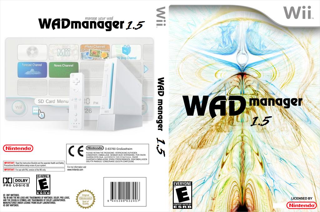 WAD Manager Wii coverfullHQ (DWMA)