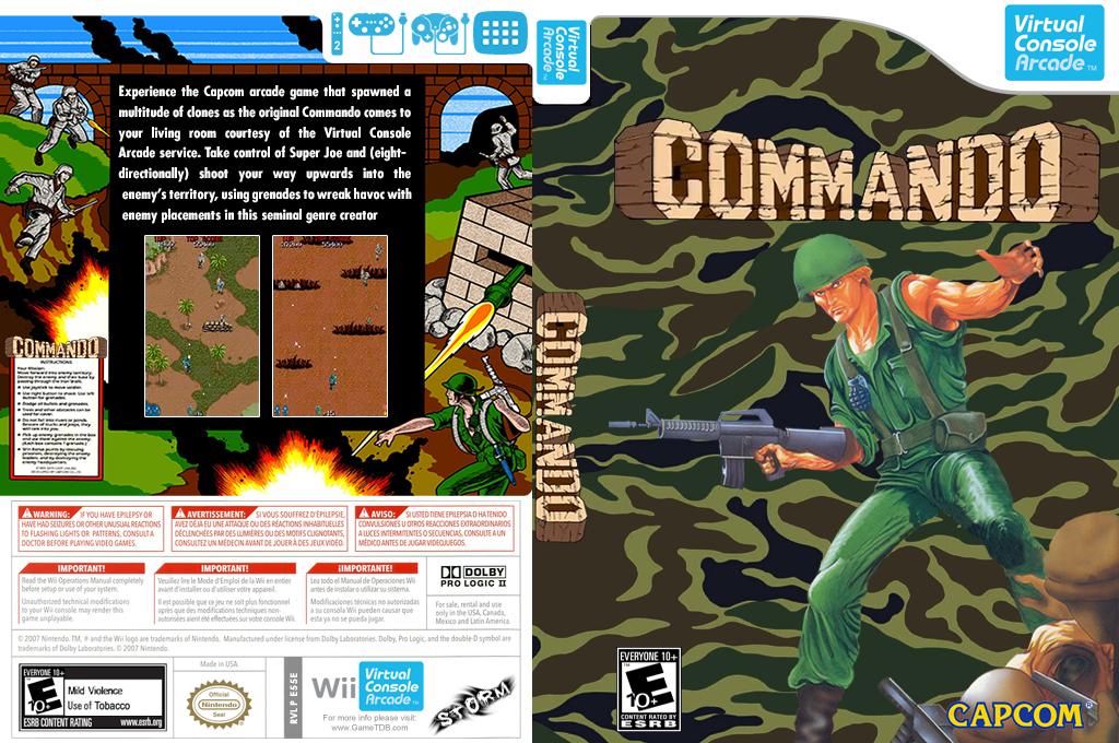 Commando Wii coverfullHQ (E55E)