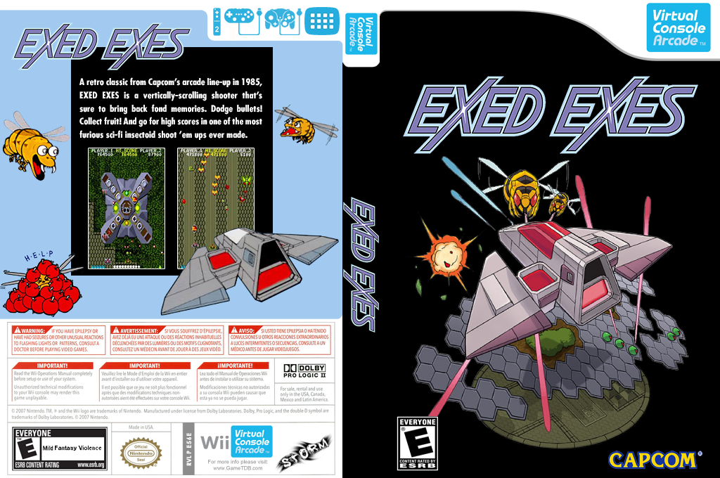 Exed Exes Wii coverfullHQ (E56E)