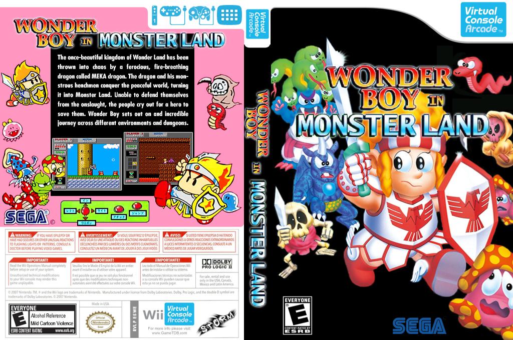 Wonder Boy in Monster Land Wii coverfullHQ (E5WE)