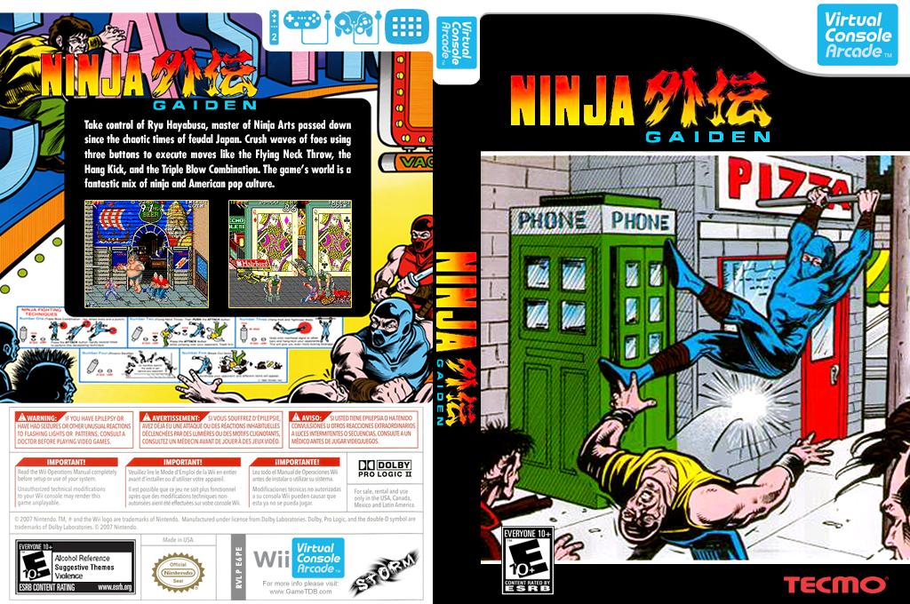 Ninja Gaiden Wii coverfullHQ (E6PE)