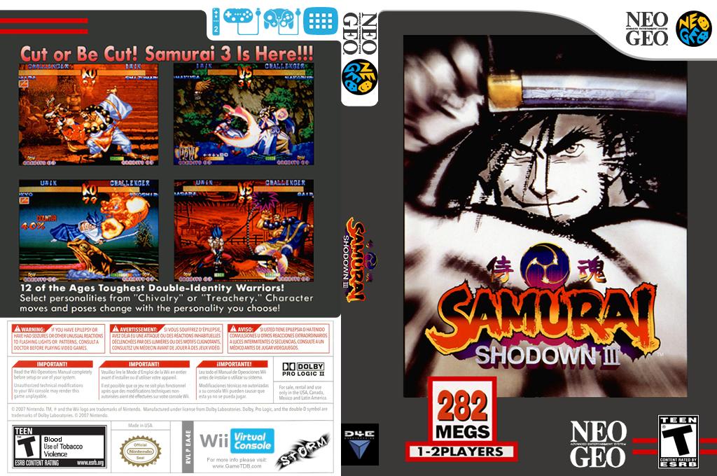 Samurai Shodown III Wii coverfullHQ (EA4E)