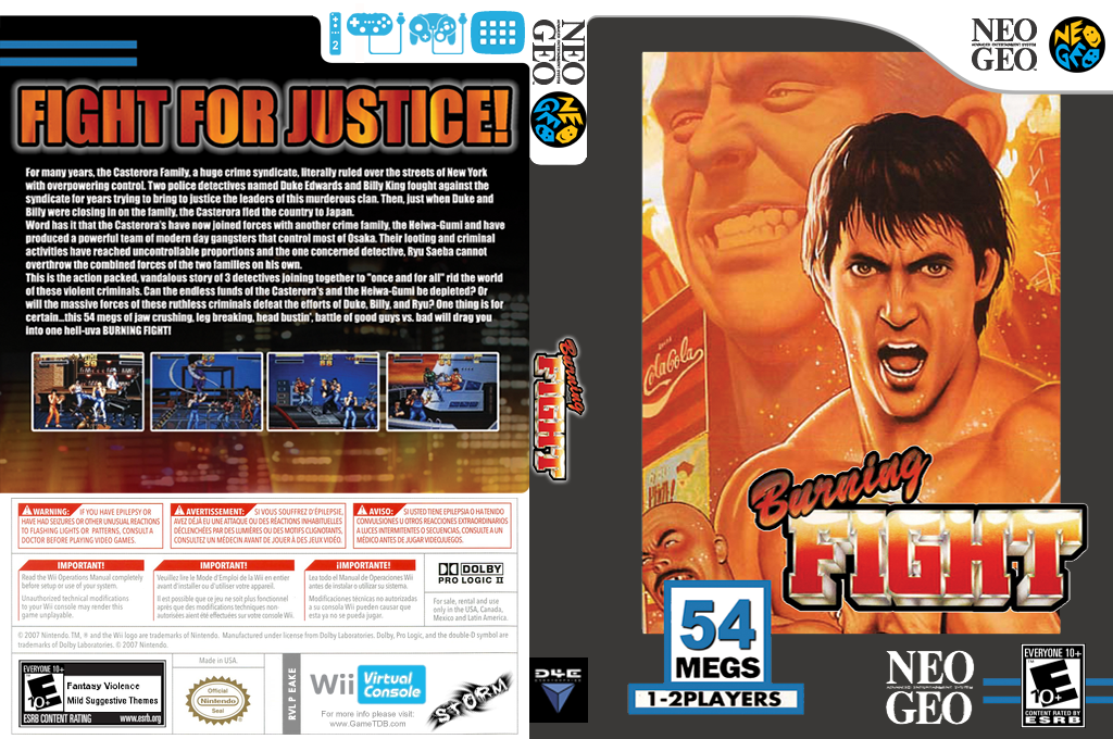 Burning Fight Wii coverfullHQ (EAKE)