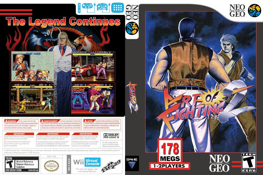 Art of Fighting 2 Wii coverfullHQ (EALE)
