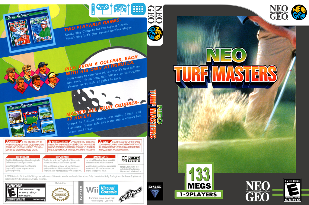 Neo Turf Masters Wii coverfullHQ (EARE)