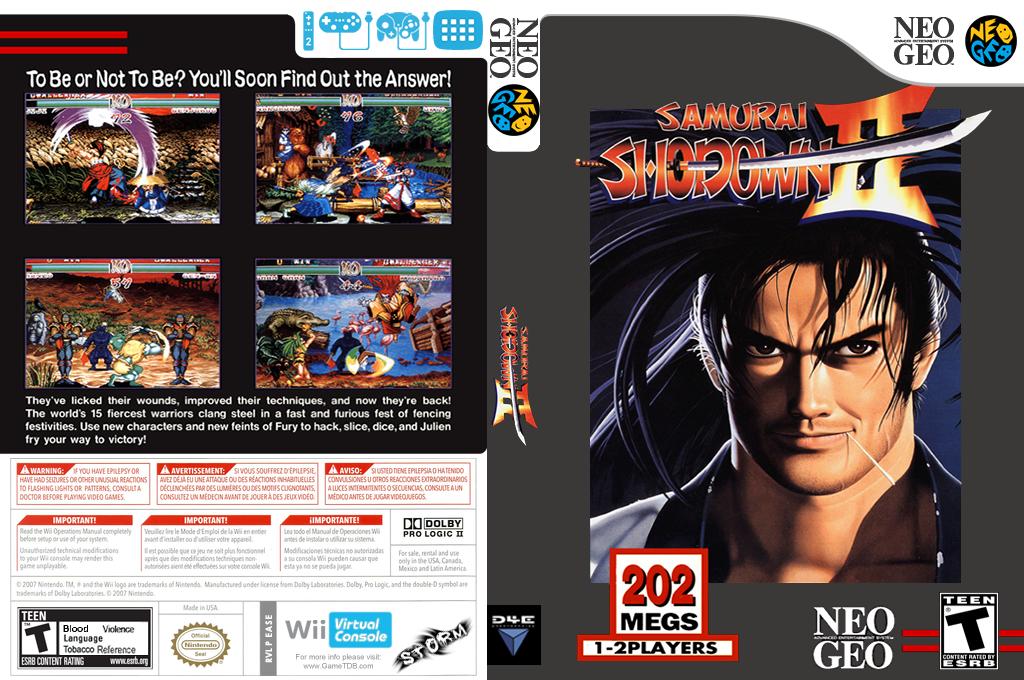 Samurai Shodown 2 Wii coverfullHQ (EASE)