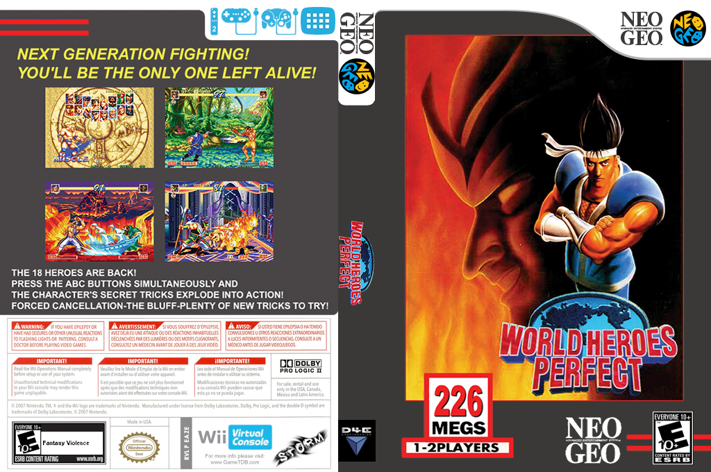 World Heroes Perfect Wii coverfullHQ (EAZE)