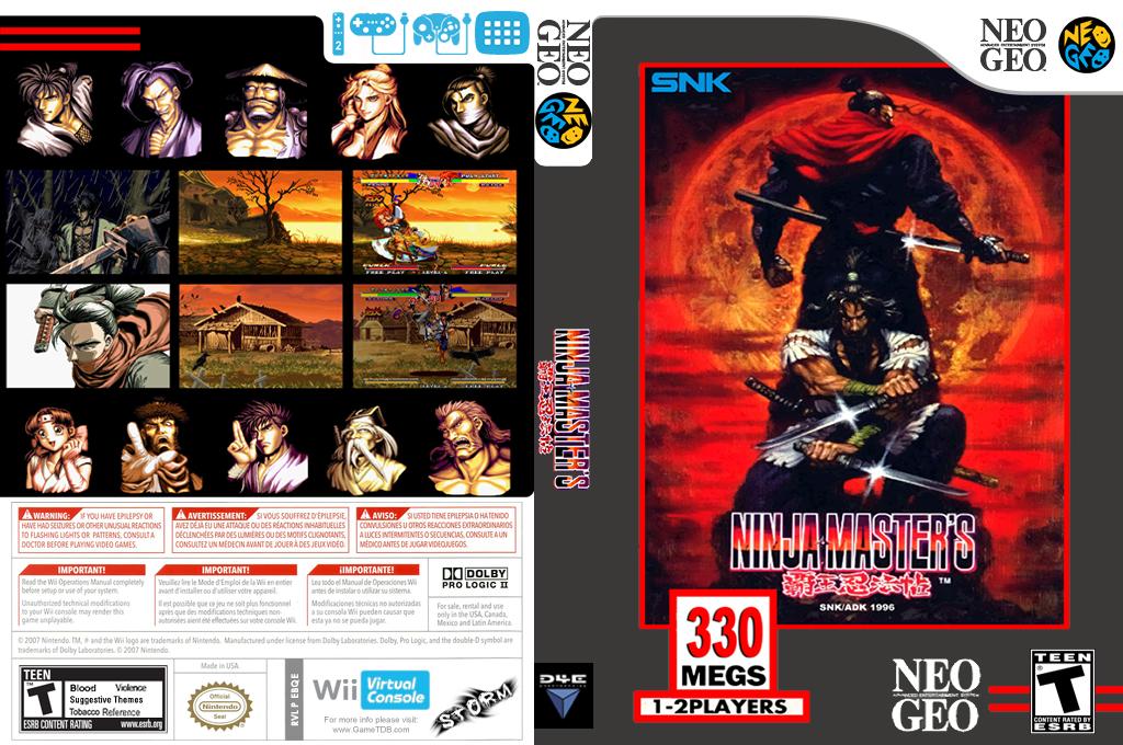 Ninja Master's Wii coverfullHQ (EBQE)