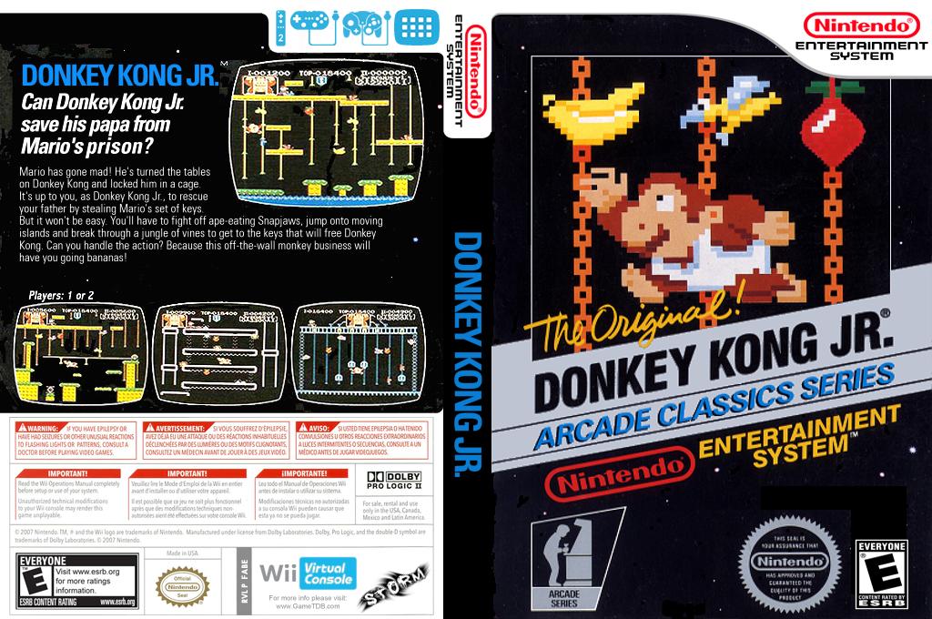 Donkey Kong Jr. Wii coverfullHQ (FABE)