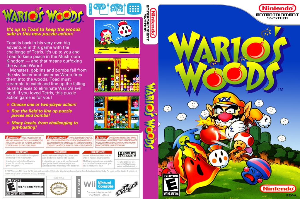 Wario's Woods Wii coverfullHQ (FAME)