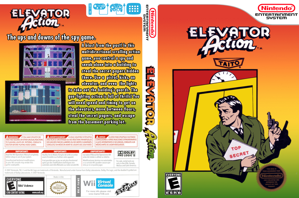 Elevator Action Wii coverfullHQ (FAWE)