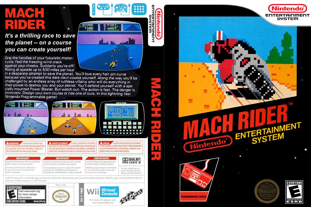 Mach Rider Wii coverfullHQ (FBBE)