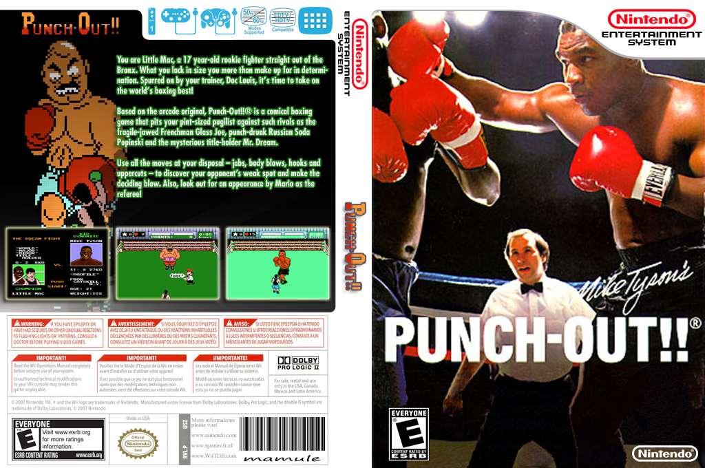 Punch Out!! Featuring Mr. Dream Wii coverfullHQ (FBIE)
