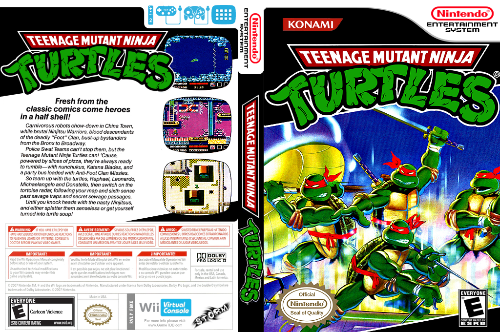 Teenage Mutant Ninja Turtles Wii coverfullHQ (FBKE)