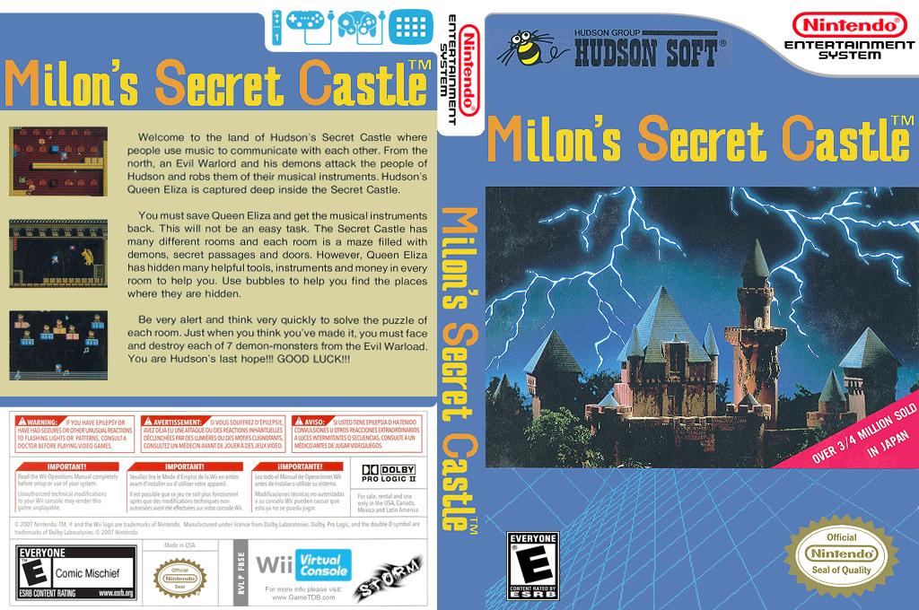 Milon's Secret Castle Wii coverfullHQ (FBSE)