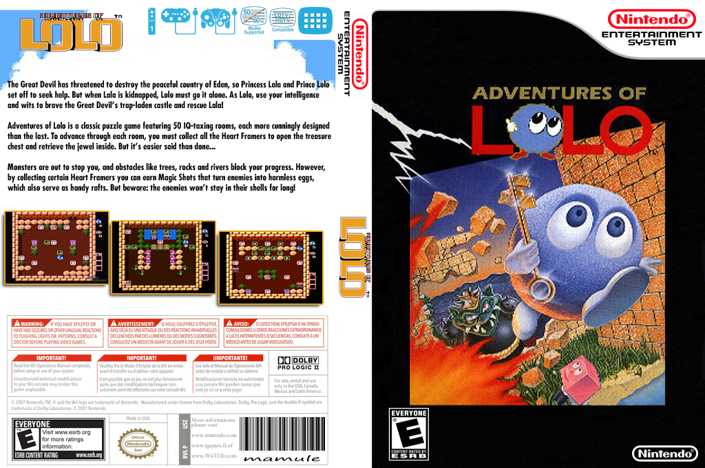 Adventures of Lolo Wii coverfullHQ (FBUE)