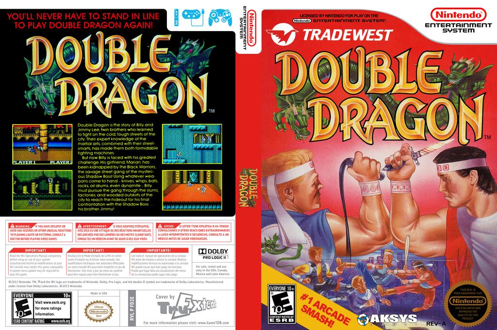Double Dragon Wii coverfullHQ (FD2E)