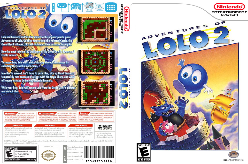 Adventures of Lolo 2 Wii coverfullHQ (FD6E)