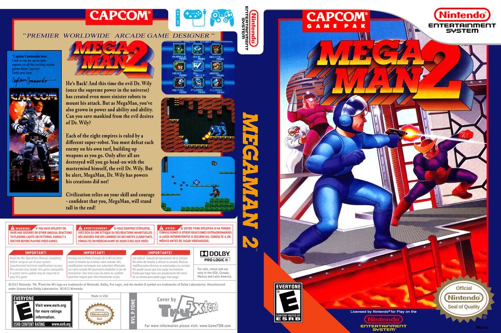 Mega Man 2 Wii coverfullHQ (FDNE)