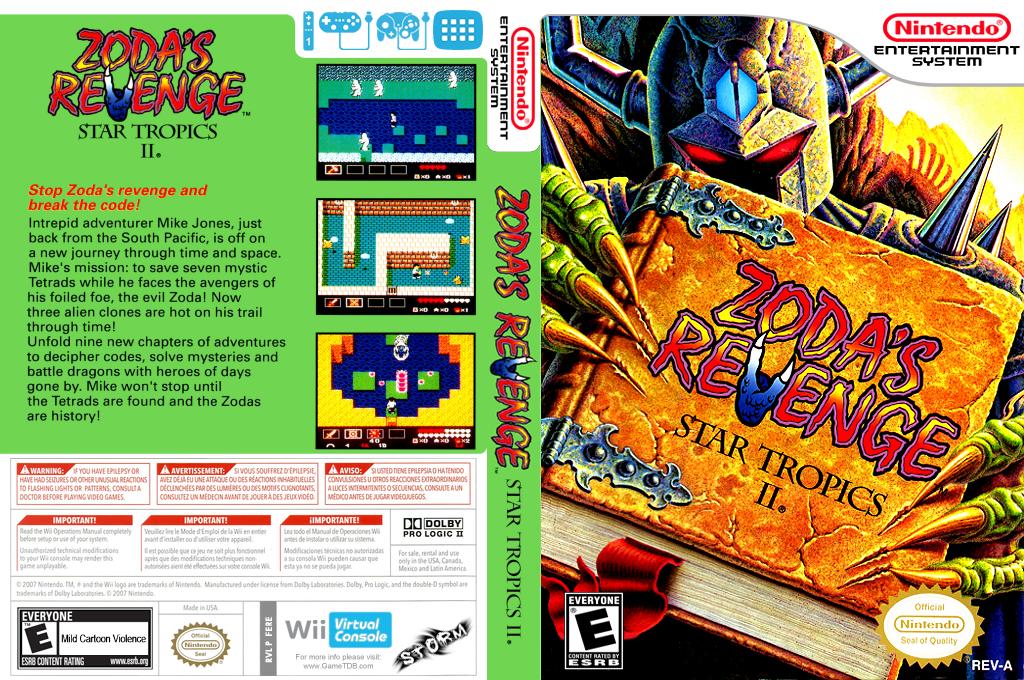Zoda's Revenge: StarTropics II Wii coverfullHQ (FERE)