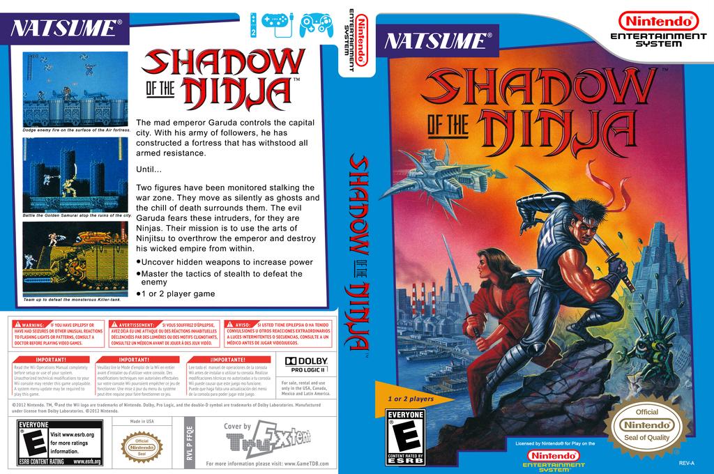 Shadow of the Ninja Wii coverfullHQ (FFQE)
