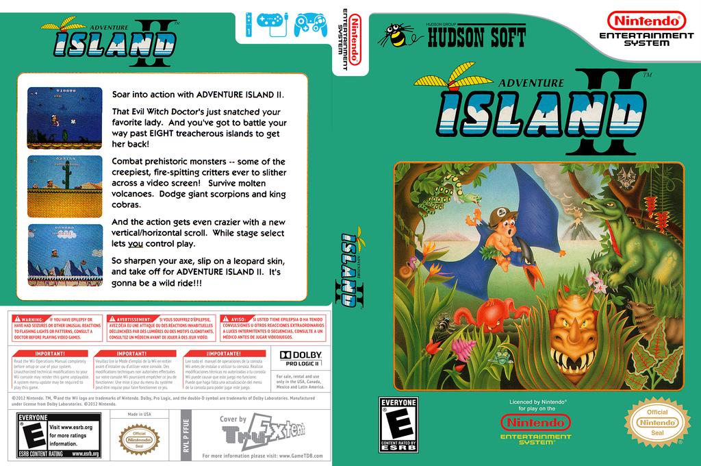 Adventure Island 2 Wii coverfullHQ (FFUE)