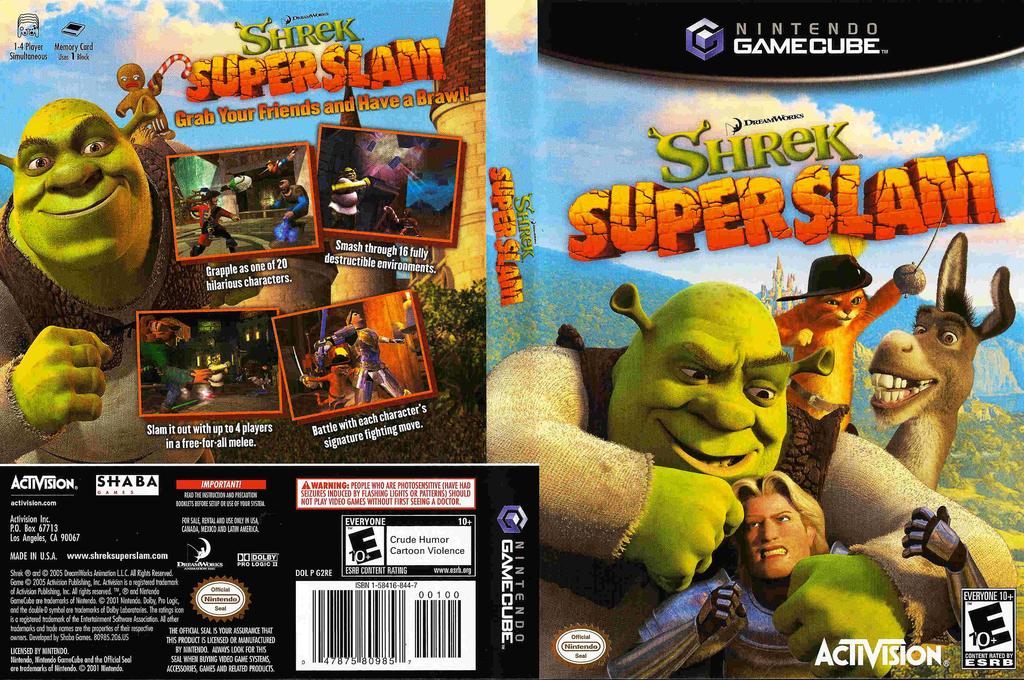 Shrek SuperSlam Wii coverfullHQ (G2RE52)