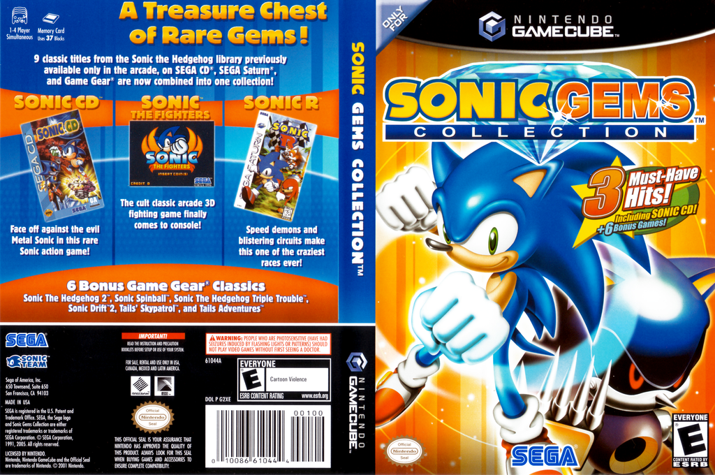 Sonic Gems Collection Wii coverfullHQ (G2XE8P)