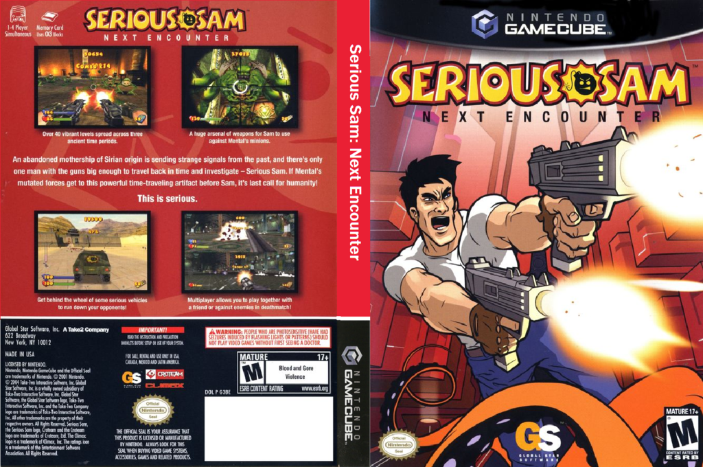 Serious Sam: Next Encounter Wii coverfullHQ (G3BE9G)