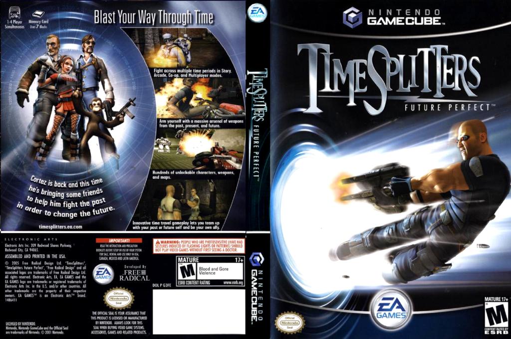 TimeSplitters: Future Perfect Wii coverfullHQ (G3FE69)