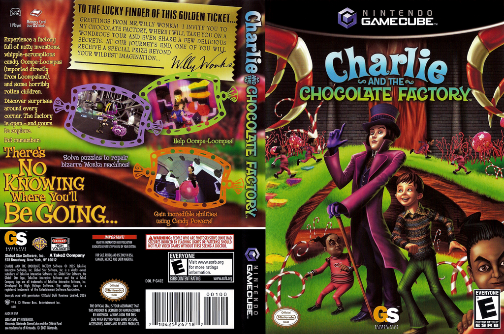 Charlie and the Chocolate Factory Wii coverfullHQ (G4CE54)