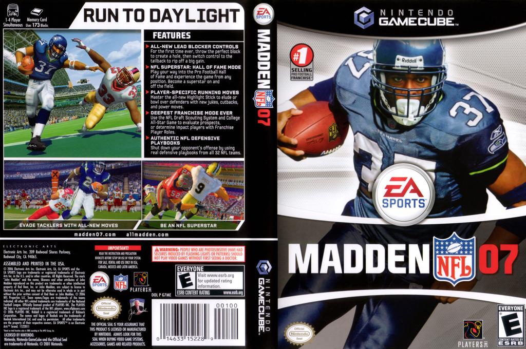 Madden NFL 07 Wii coverfullHQ (G7ME69)
