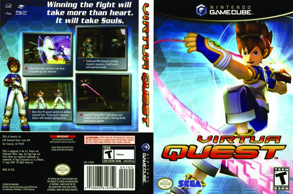 Virtua Quest Wii coverfullHQ (G8FE8P)