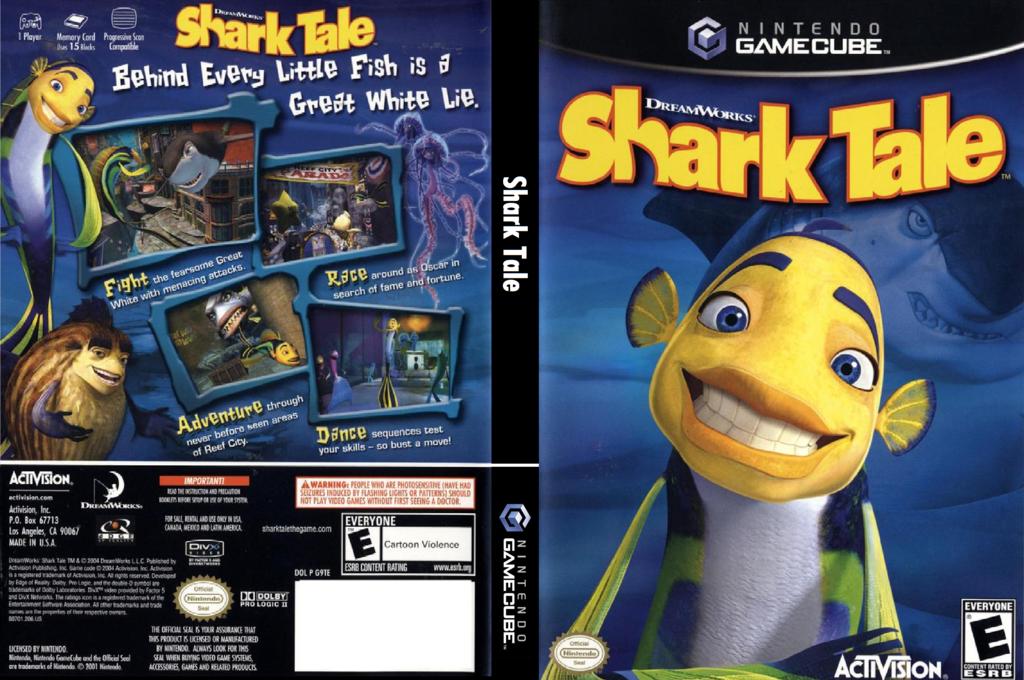 Shark Tale Wii coverfullHQ (G9TE52)