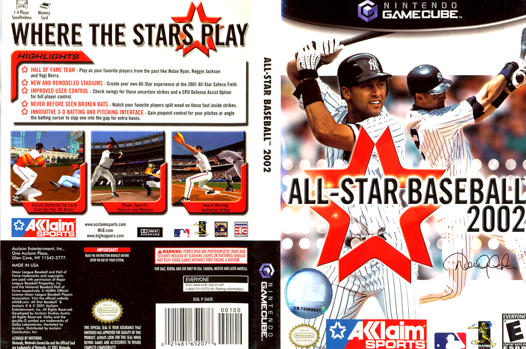 All-Star Baseball 2002 Wii coverfullHQ (GA2E51)