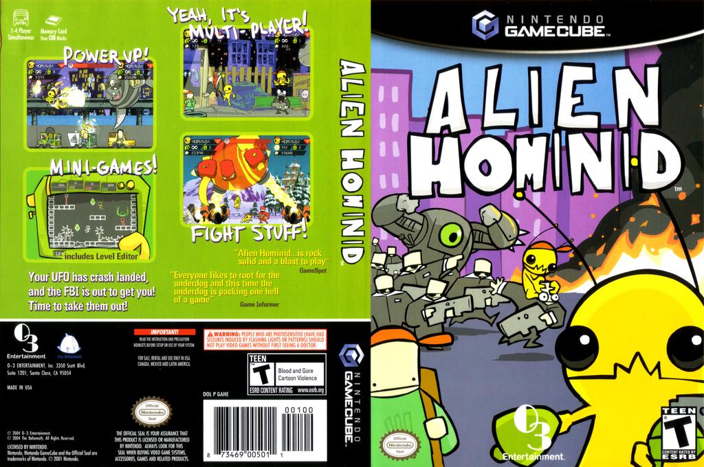 Alien Hominid Wii coverfullHQ (GAHEGG)