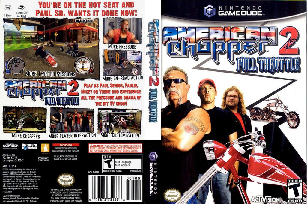 American Chopper 2 - Full Throttle Wii coverfullHQ (GAPE52)