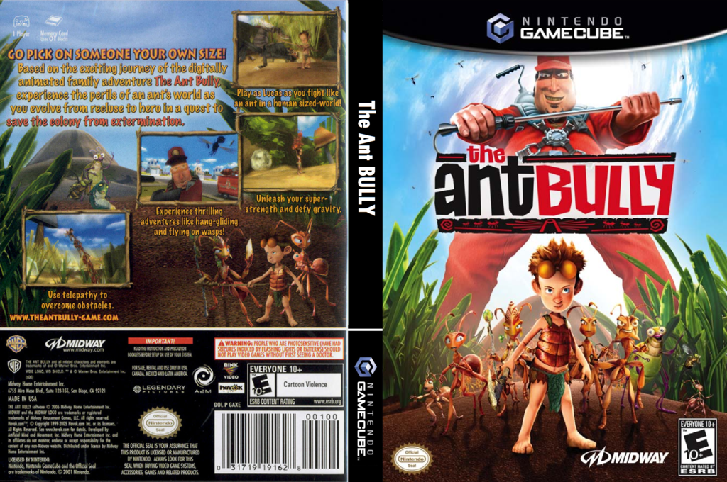 The Ant Bully Wii coverfullHQ (GAXE5D)