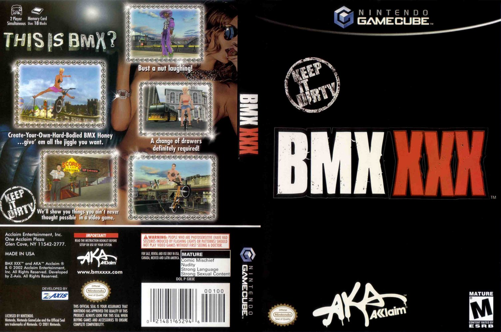 Bmx Xxx The Game