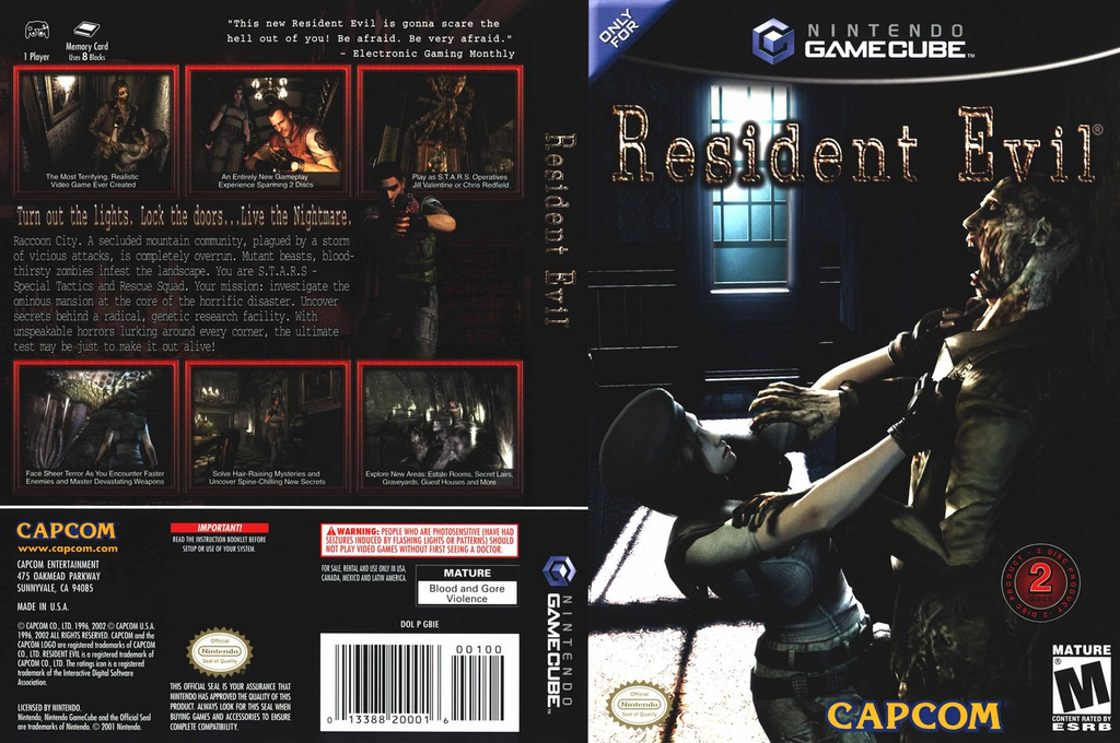 Resident Evil Wii coverfullHQ (GBIE08)