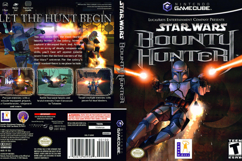 Star Wars Bounty Hunter Wii coverfullHQ (GBWE64)