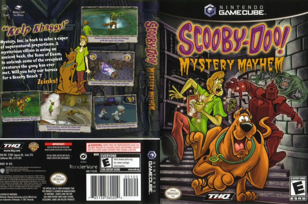 Scooby-Doo!: Mystery Mayhem Wii coverfullHQ (GC3E78)