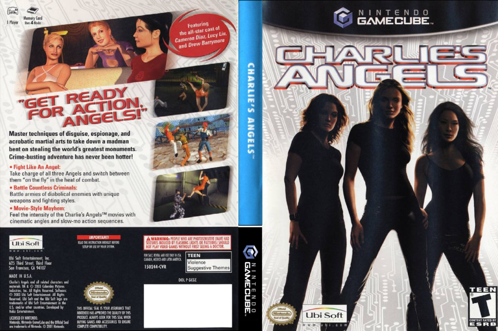 Charlie's Angels Wii coverfullHQ (GCGE41)