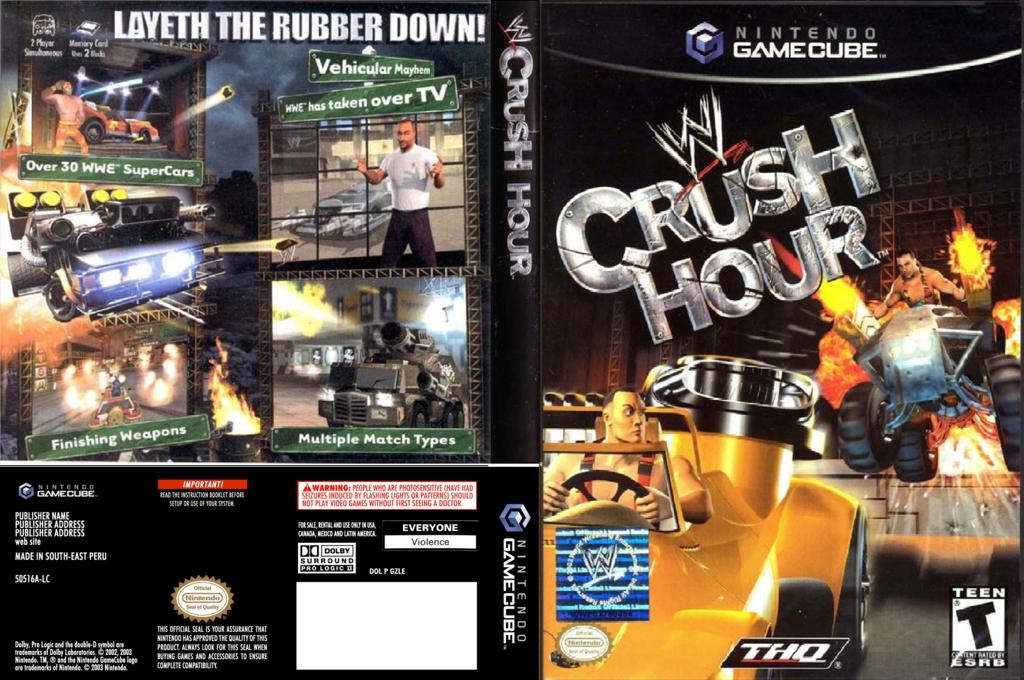 WWE Crush Hour Wii coverfullHQ (GCHE78)