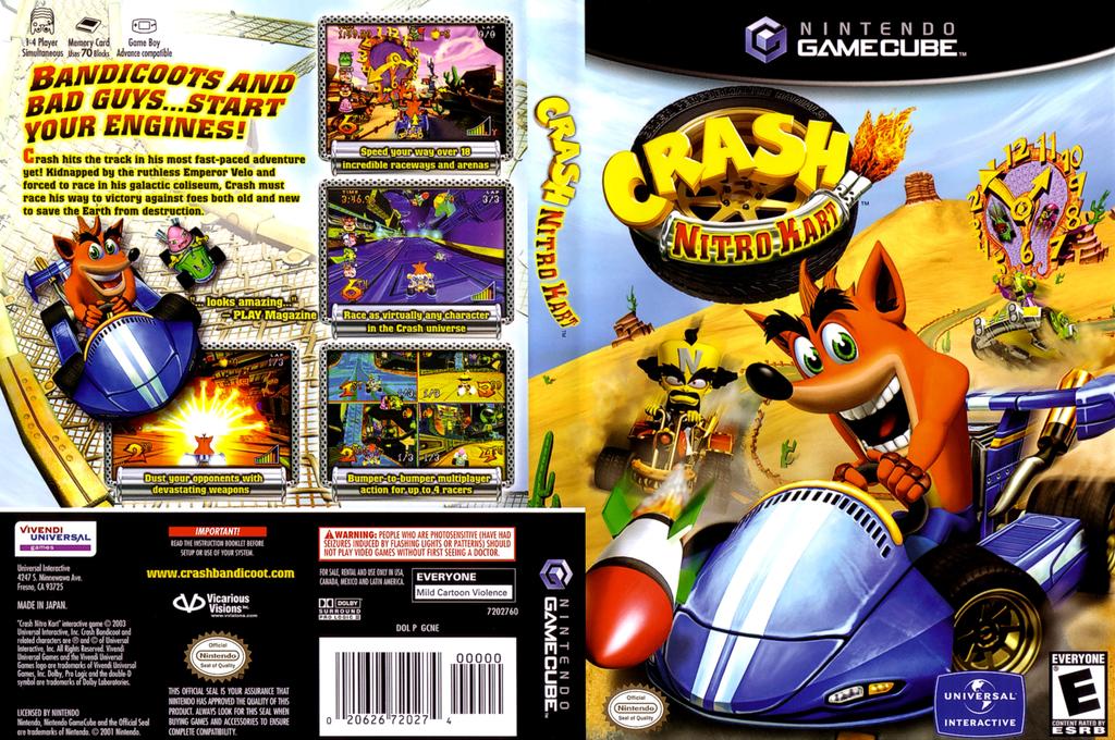 Crash Nitro Kart Wii coverfullHQ (GCNE7D)