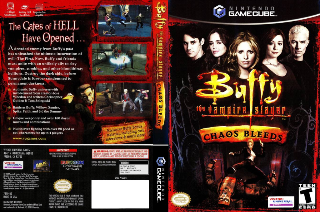 Buffy the Vampire Slayer: Chaos Bleeds Wii coverfullHQ (GCQE7D)
