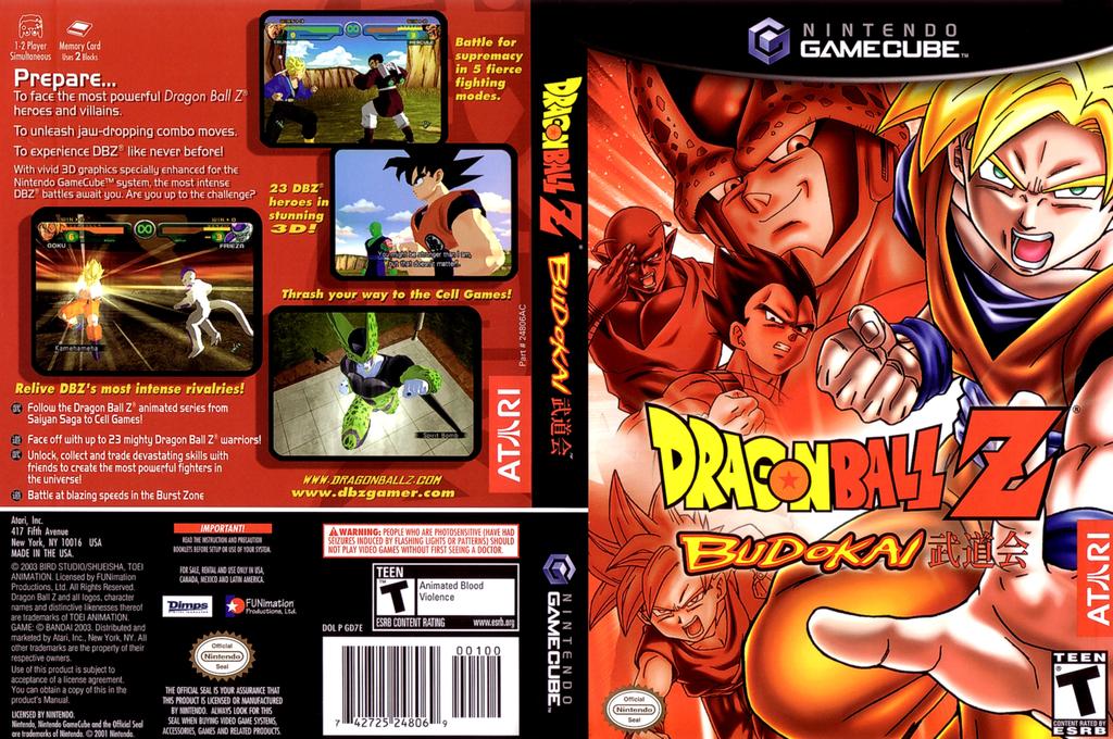Dragon Ball Z - Budokai Wii coverfullHQ (GD7E70)
